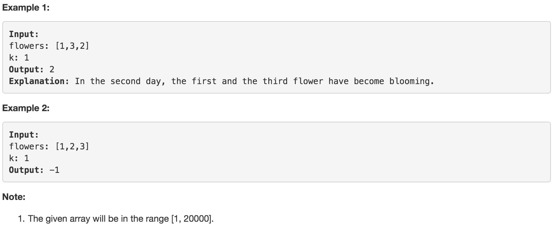 LeetCode : 683  K Empty Slots · Issue #340 · congr/world · GitHub