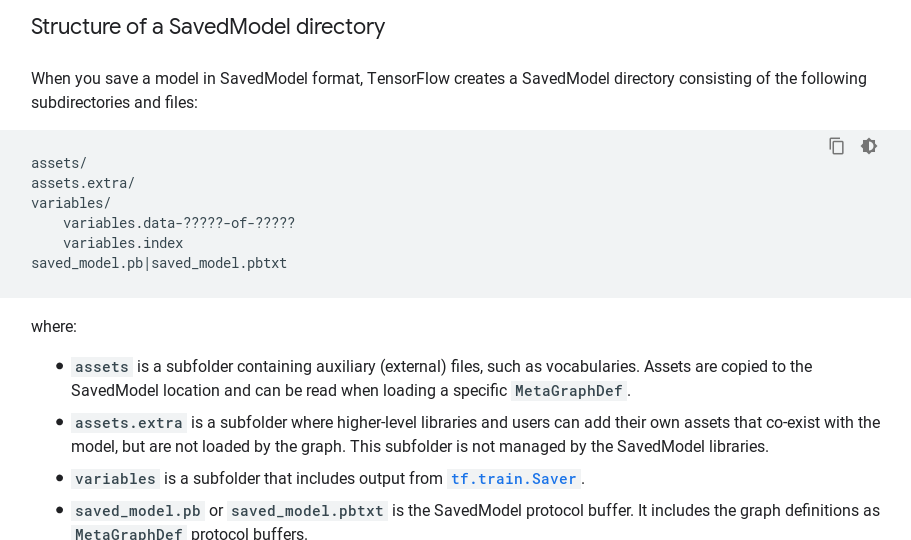 OSError: SavedModel file does not exist at: saved_model_dir