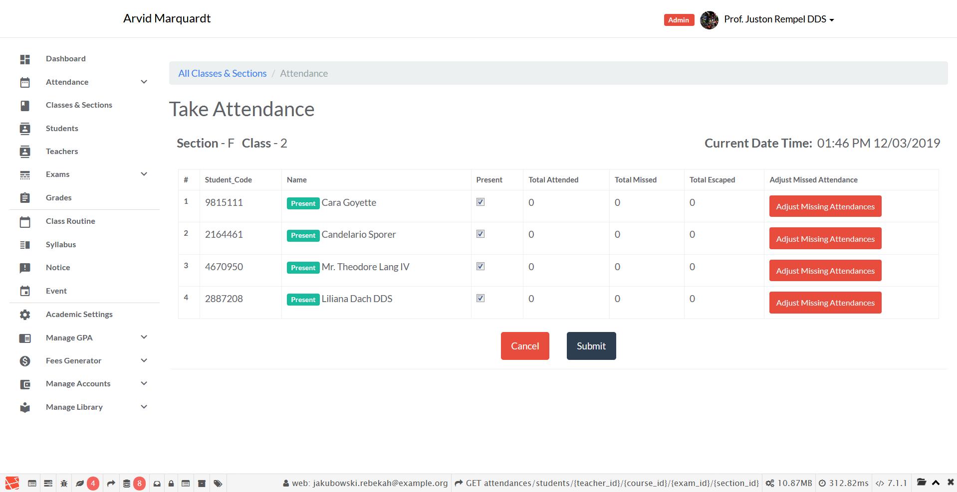 Screenshot_2019-03-12 Attendance - Arvid Marquardt