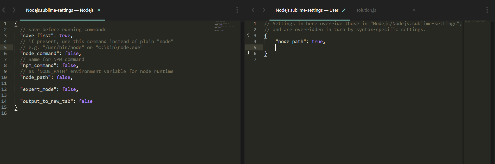 Node path · Issue #91 · tanepiper/SublimeText-Nodejs · GitHub