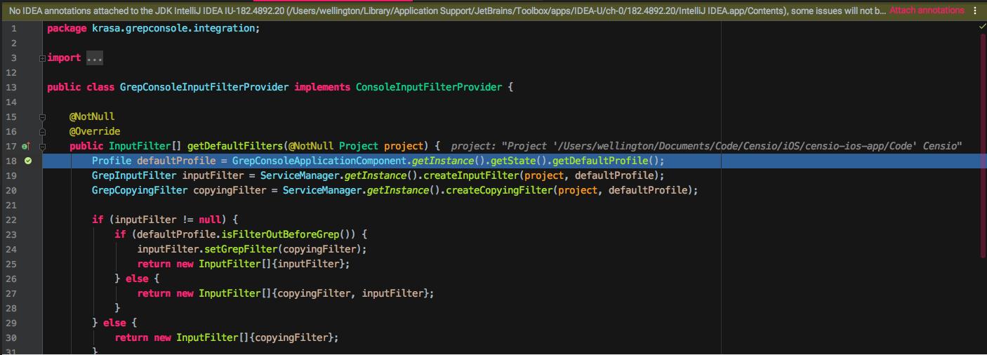 Grep console not working in AppCode · Issue #129 · krasa