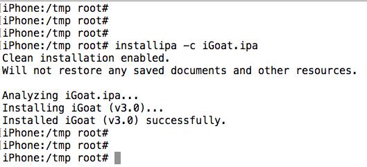 iGoat ipa is not a valid IPA · Issue #42 · OWASP/igoat · GitHub