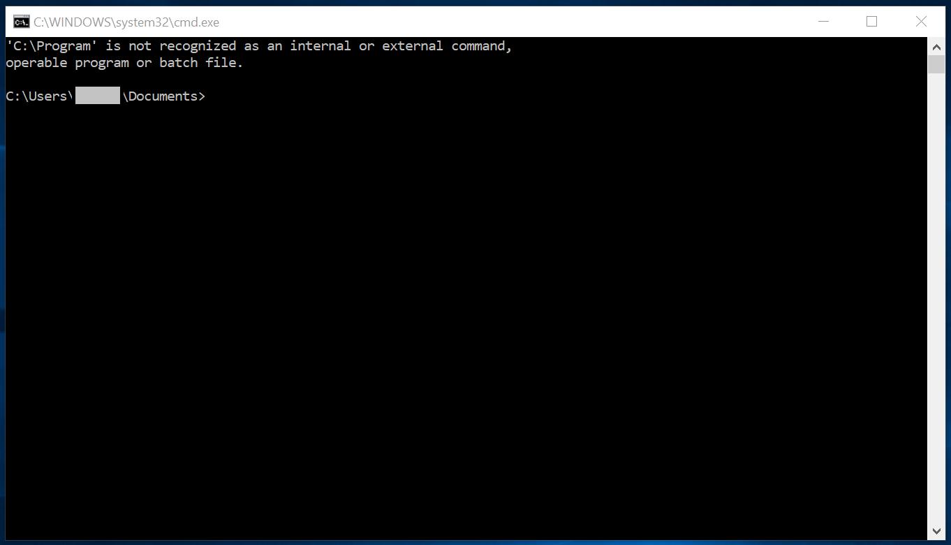 Error running Anaconda Prompt on Windows · Issue #7999