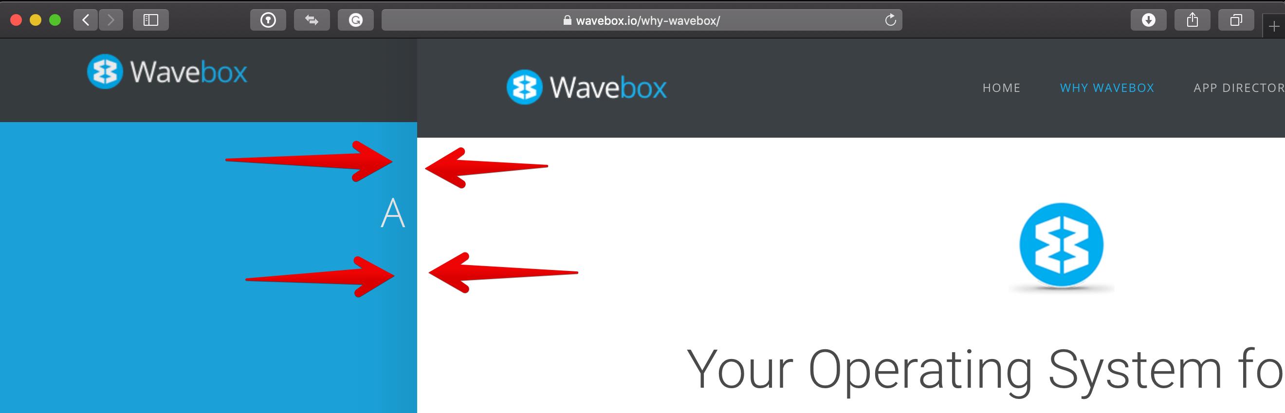 Add feedback animation for two-finger back/forward navigation