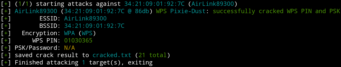 Wifite Wps Transactions Issues Issue 60 Derv82 Wifite2 Github