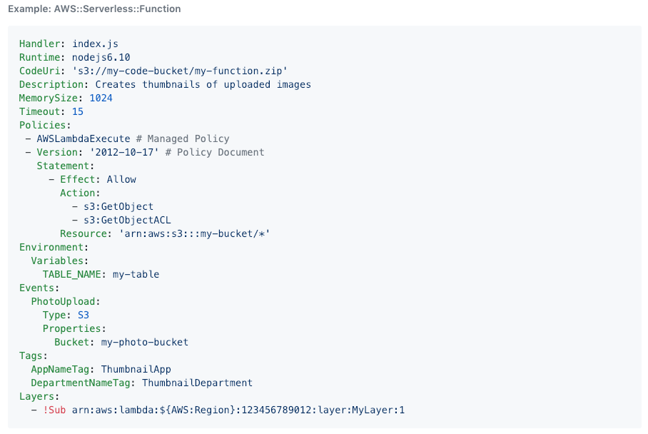 AWS SAM Local 🐿用于本地开发和测试无服务器应用程序的CLI工具 - Go开发