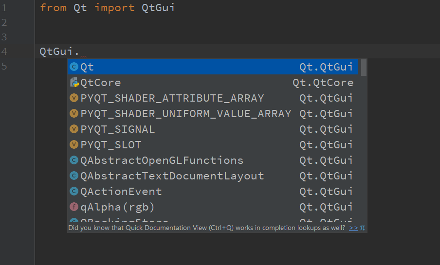 Intellisense/Autocomplete for PyCharm · Issue #199