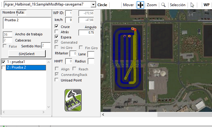 WIP Courseplay editor for Fs19  New feature