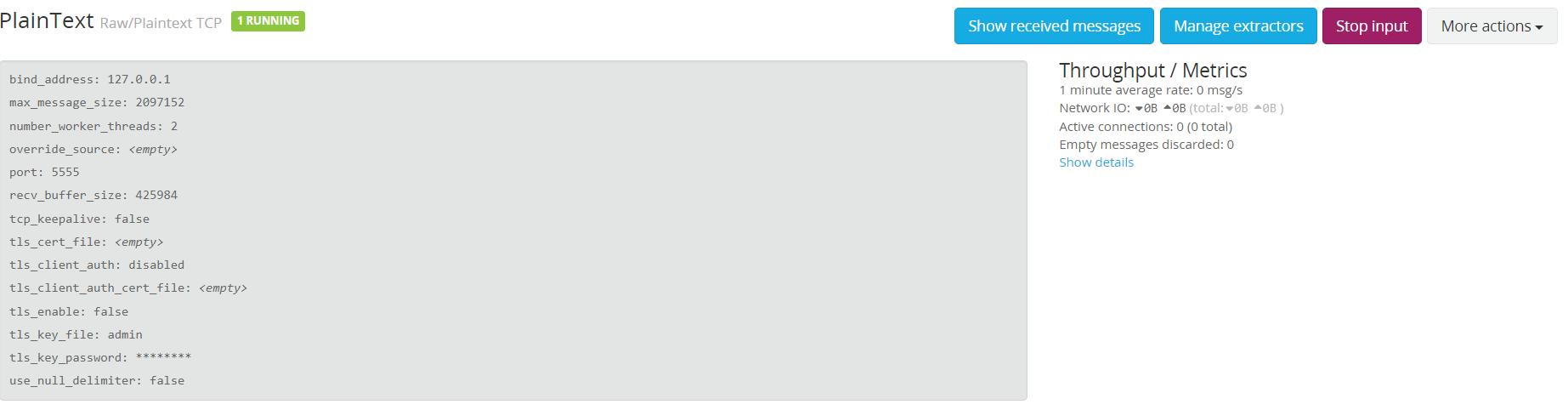 Graylog Docker PlainText Tcp/udp input is not working